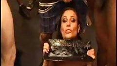 Cindy Crawford in bukkake