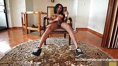 Ebony Shemale Kimberly Solo - Fetish Shemale