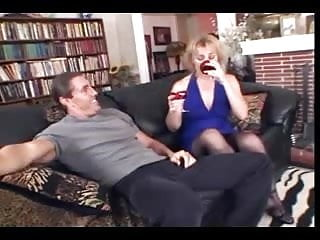 Matures and nylon Milf sucks fucks anal too