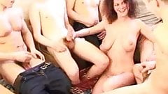 MILF entertains a party