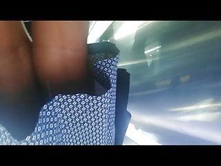 Panty upskirt video lift - Nice white panty upskirt of a ebony cutie