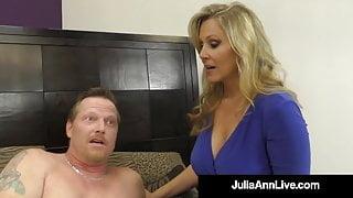 FemDom Milf Ms. Julia Ann Tells You When To Cum! JOI!