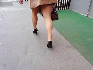 Heels legs pantyhose Sexy legs 27