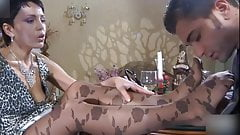 mature women practicing sex in stockings and pantyhose 4