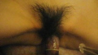 Fucking Anhui Chinese with a hairy bush