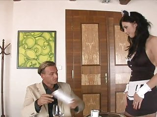 Gallery sexy uniform Maid in sexy uniform gets her wet cunt licked by randy hunk