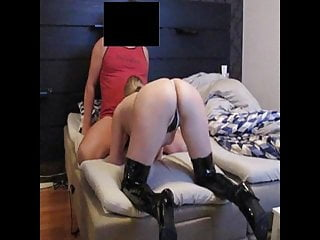 My wife wants nigger cum - My wife wants to guests cock, and she gets it