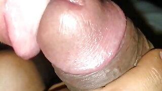 Thai girl sucks me off