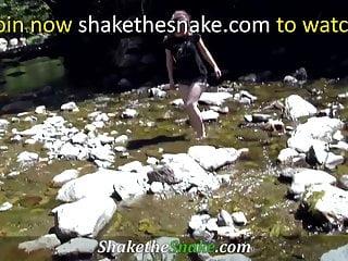 Fuck rednecks Shake the snake - some redneck fuck in nature