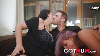 Got Mum – Threesome With Milf  Babe & Big Cock