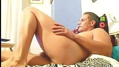 daddy in cam shows his ass