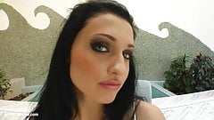 Messy creampie scene with superhot Aletta Ocean from All