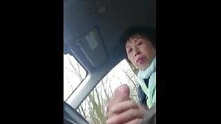 Granny Handjob #6 Chinese Sous-Chef, Happy Ending Takeaway