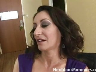 Breast brusing Big breasted mom banged in hotel room