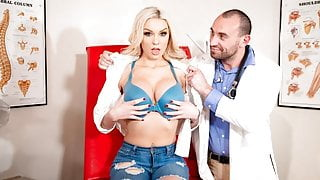 DevilsFilm Please Help Me Doctor, My Tits Are Too Heavy