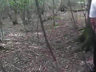 Slut bondage wife Slut wife hooded in forest and fucked 1