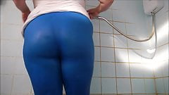 Big Ass Wet Spandex 2