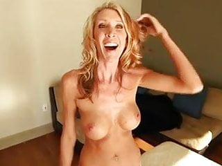 Safest porn video - Slender mature amateur milf makes porn video