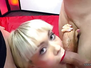 English extreme femdom - Extreme bukkakes and ass fuck on cherry english