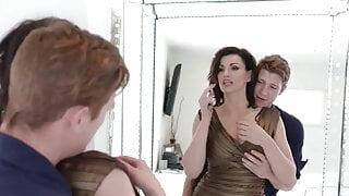 Stepson pulls insatiable stepmother