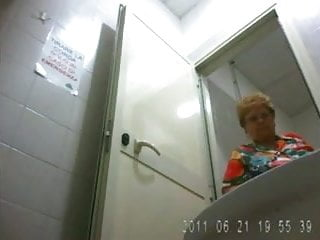Tottally spies nude Granny spied in toilets