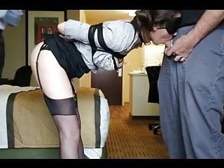 Bondage exersize Tied whore used