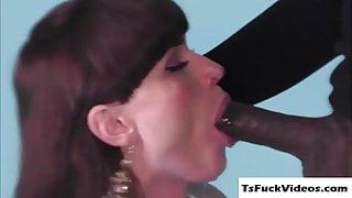 Horny Slut T Natalie Mars getranny hammered by