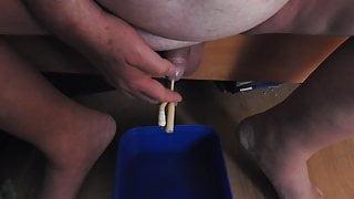 insertion into the urethra 3 (sonde)