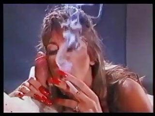 Fingering long nails healing vagina Hottie with long nails smoking blowjob