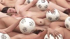 Austrian nude women group at Vienna