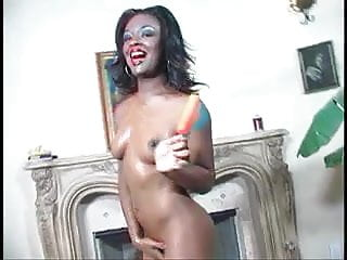 One eyed pirate porn film company Ebony nymph riding the one eyed monster