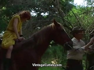 Gay moves in the 1960 - Redhead fucked in the forest 1960s vintage