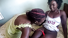 Horny Black Lesbian Babes Pussy Licking