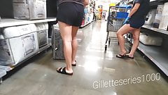 Candid 2 for 1 hot legs special