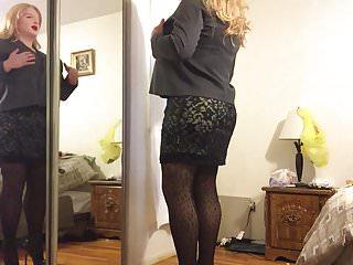 Deanna favre breast cancer jersey Deanna doll in black dress lingerie