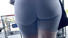 Perfect Buttercup bubble butt pawg milf In leggings vpl