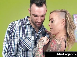 Fucking the voss keez movies Inked alexia vosse fucked by french cock alex legend