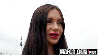Mofos - Public Pick Ups - Russian Brunette Fucks Outdoors st