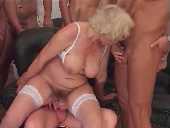 Granny Gangbang Porn