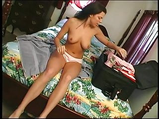 Anal cunt sex toy Two bisexual brunette hos muff diving and get ass and cunt pounded before facial