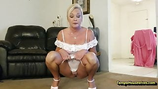 Peeing Housewife Compilation #2