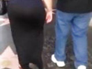 Ass booty butt community type Spying mature big butt - candid ass - booty street voyeur