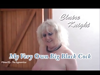 Black sexy knight Claire knight - my very own big black cock