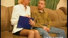 Russian Mature Women-Sex With Young Guys-01 Russian Cumshots