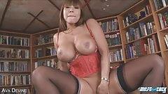Brunette Asian MILF Gets Pounded in AMAZING POV Scene!