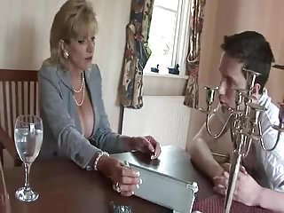 Euro naked lads British milf teases young lad with her tits