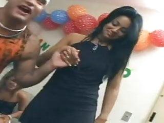 Thompon xxx black Brazilian orgy xxx