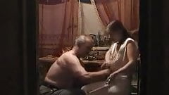 Amateur russian home video