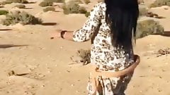 sister Manal is dancing and the Sudanese stallion is watc