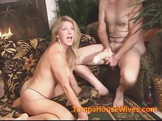 Filthy gangbang My milf wife is a filthy cum whore